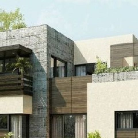 Front elevation modern house simple home architecture-design